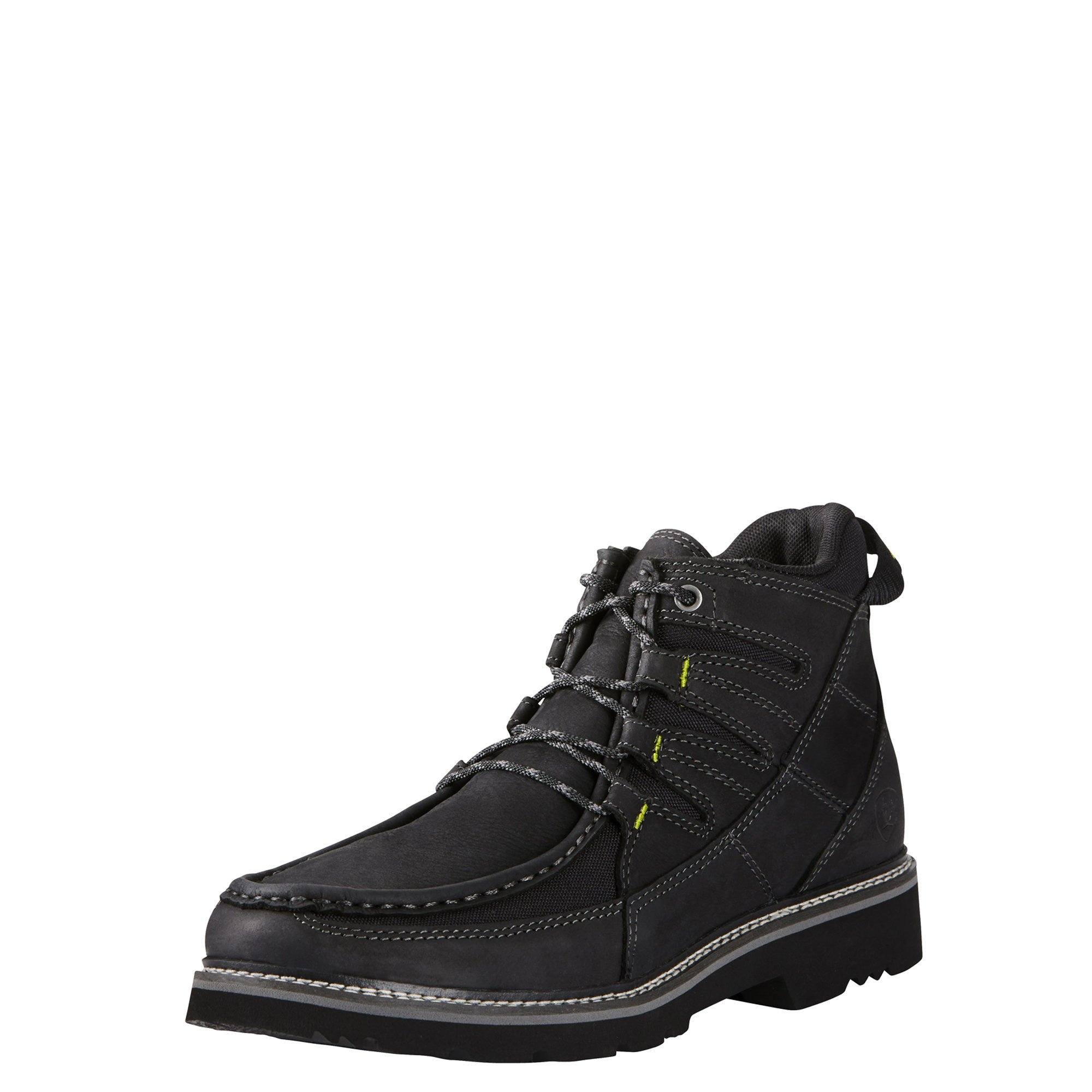 Ariat Mens Exhibitor Rugged West 10.5D Basto Black by Ariat (Image #1)