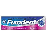 Fixodent Original Denture Adhesive Cream 1.4 Ounce