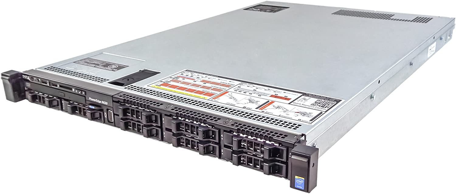 Dell PowerEdge R630 Server 2X E5-2680v3 2.50Ghz 24-Core 96GB 8X 300GB H730 Rails (Renewed)