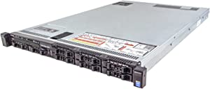 Dell PowerEdge R630 Server 2X E5-2670v3 2.30Ghz 24-Core 128GB 8X 900GB H730P (Renewed)