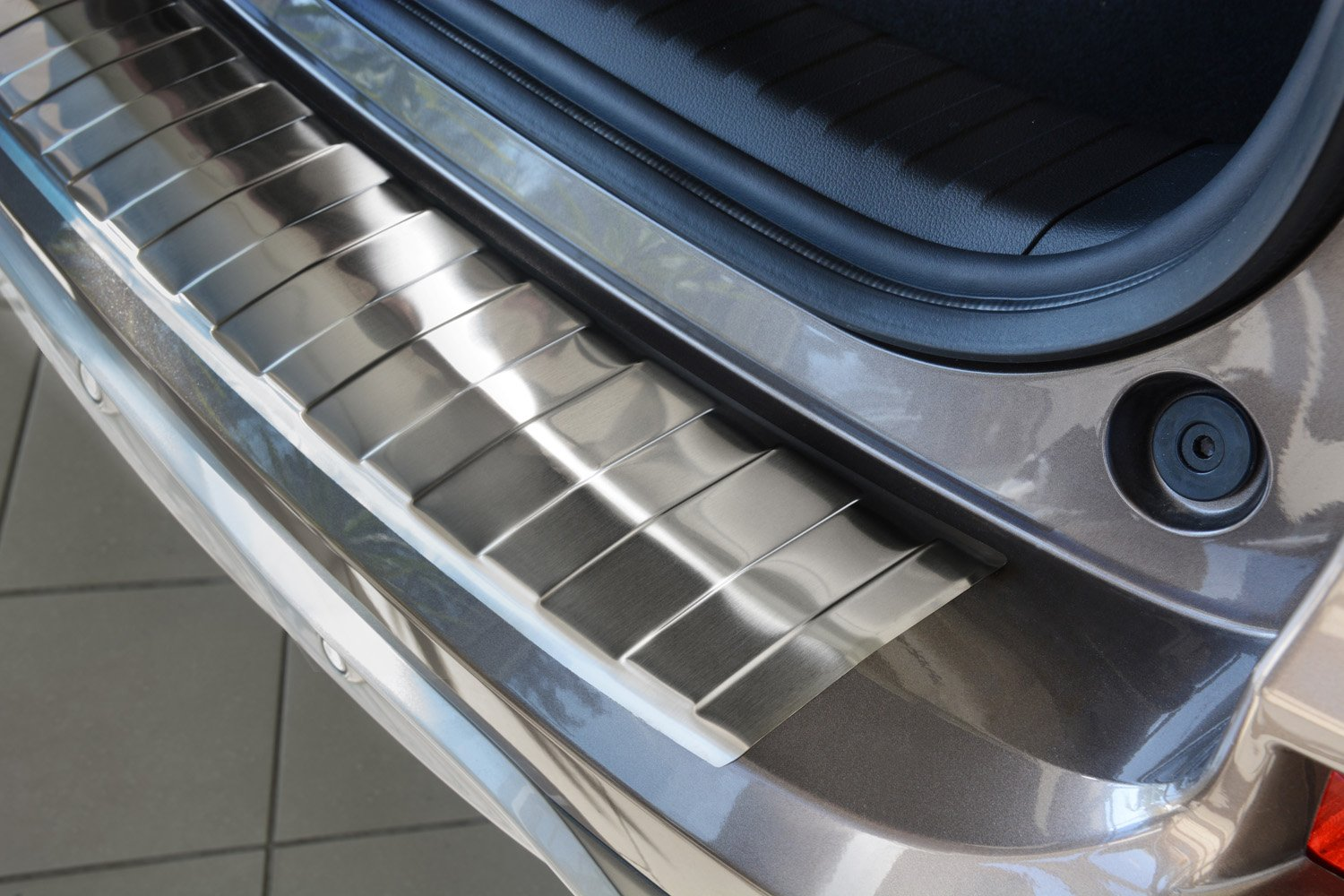 2015 2017 Honda Cr V Crv Stainless Steel Rear Bumper Step Cover Mobilio Protector Guard Automotive