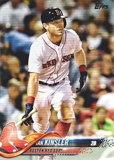 2018 Topps Update Baseball  US10 Ian Kinsler Boston Red Sox at ... 16529040fe9