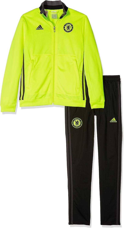 adidas Chelsea PES Suit Y Chándal, Niños, Amarillo Rojo (Amasol ...