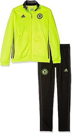 adidas Chelsea PES Suit Y Chándal, Niños, Amarillo/Negro/Rojo (Amasol/Negro/Granit), 9-10 años: Amazon.es: Deportes y aire libre