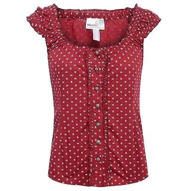 Sonderteil exquisites Design extrem einzigartig MarJo Trachten Damen Trachten-Mode Trachtenbluse Darina ...