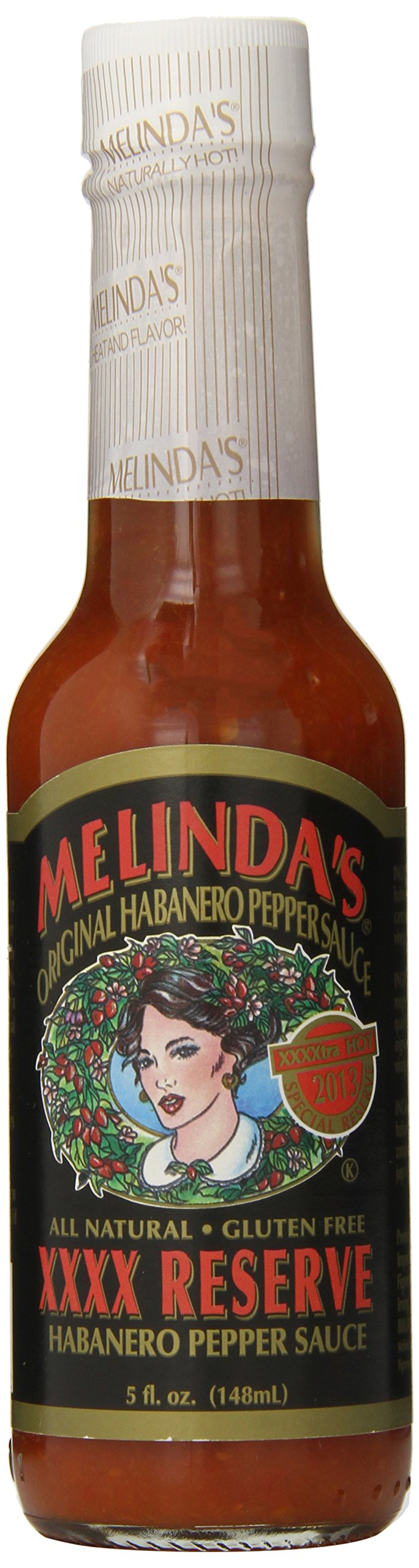 Melindas XXXXtra Reserve Habanero Pepper Sauce, 5 Ounce