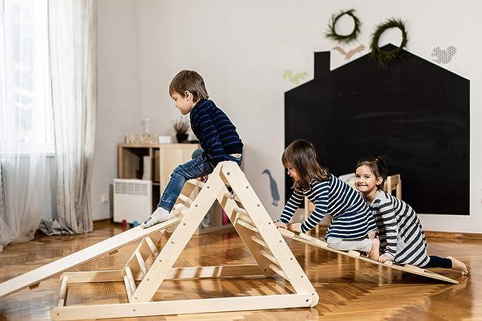 Kletterdreieck Nach Art Pikler : Pikler dreieck schrittdreieck kletterleiter für kleinkinder