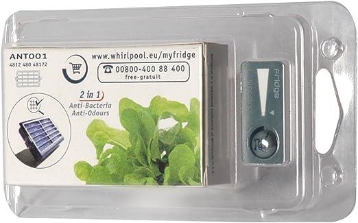 ?WESSPER/® Filtro antibacterias para frigor/ífico Whirlpool ART 963//A+//NF
