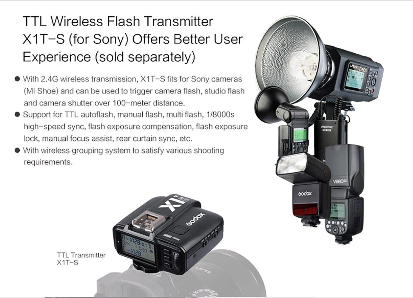 Godox Tt350s Mini Flash Ttl Hss 1 Camera Photo Fujifilm Mirrorless X T20 1650 Bk