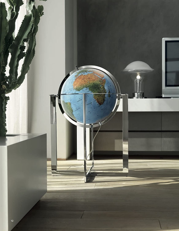 Nova Rico Globe géographique–Steel Blue 50cm Tecnodidattica S.p.a.