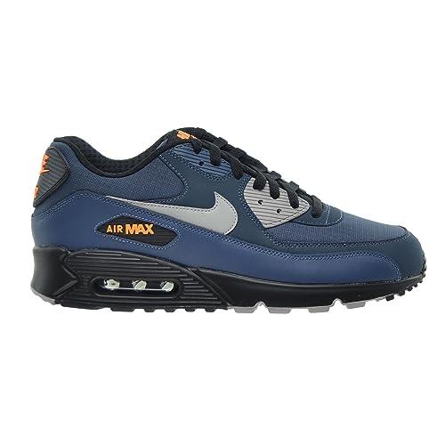 3f8eaee71e Nike Air Max 90 Essential Men's Shoes Squadron Blue/Flight Silver/Black  537384-