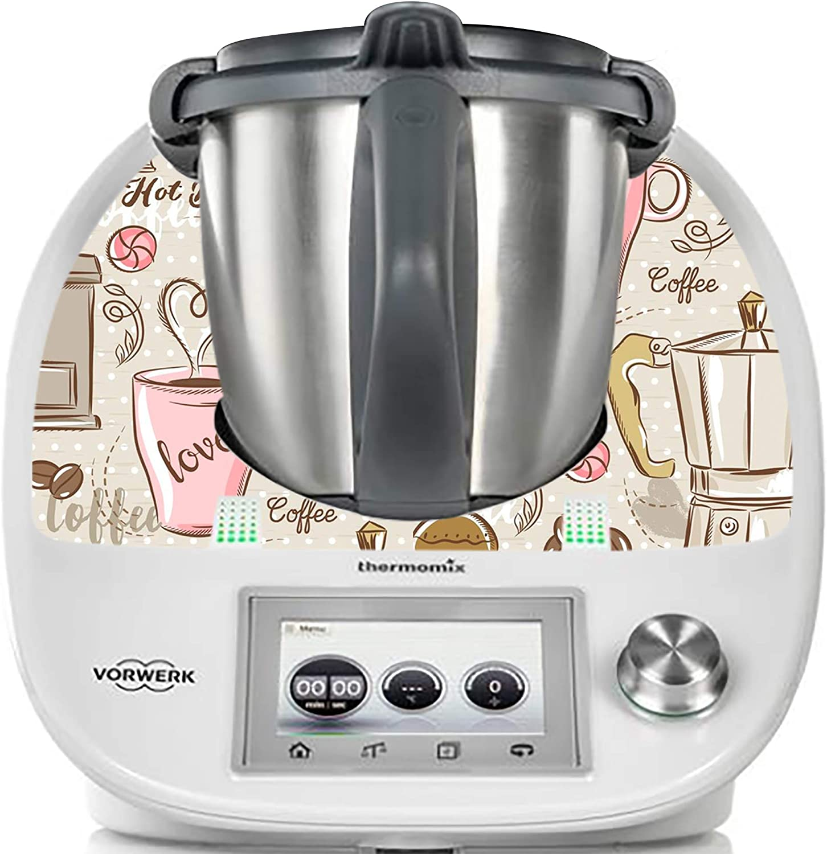 thermodernizate- Coffee Time Vinilos Thermomix TM5 & TM6: Amazon.es
