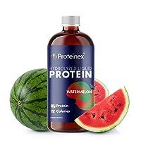 Liquid Protein Hydrolyzed by Proteinex 18 Grams Protein 30 oz, No Fat, Sugar Free...