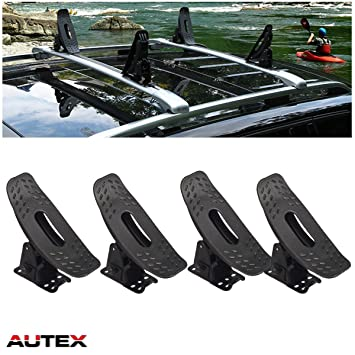 AUTEX Multi-Pivot Universal Roof Top Mounted Canoe Boat Surf