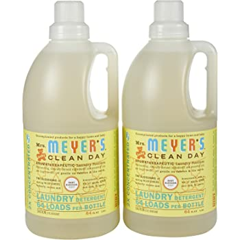 Amazon Com Mrs Meyer S Clean Day Laundry Detergent