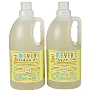 Mrs. Meyer's Clean Day Laundry Detergent - Baby Blossom - 64 oz - 2 pk