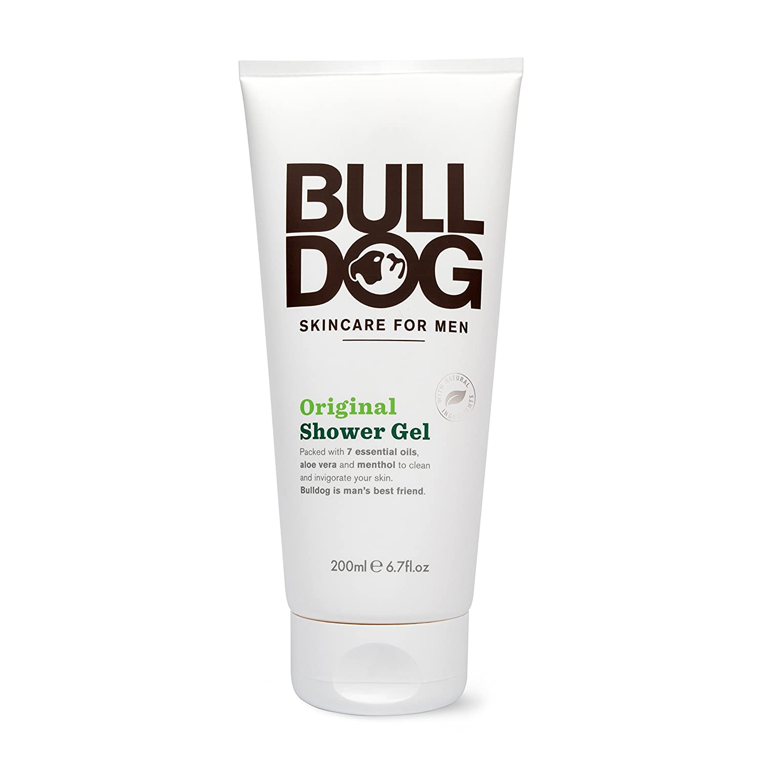Bulldog Natural Skincare B42513 Bulldog Original Shower Gel200ml -1x6.7oz Healthcenter 63907