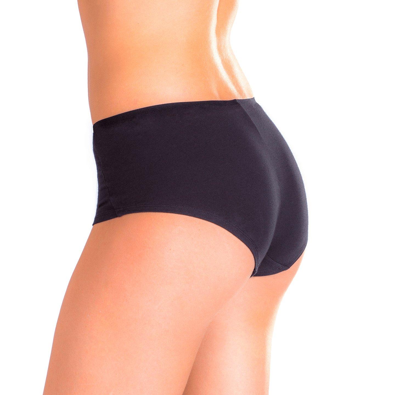 065c2778f748 Emprella Women's Boyshort Panties (10-Pack) Comfort Ultra-Soft Cotton  Underwear