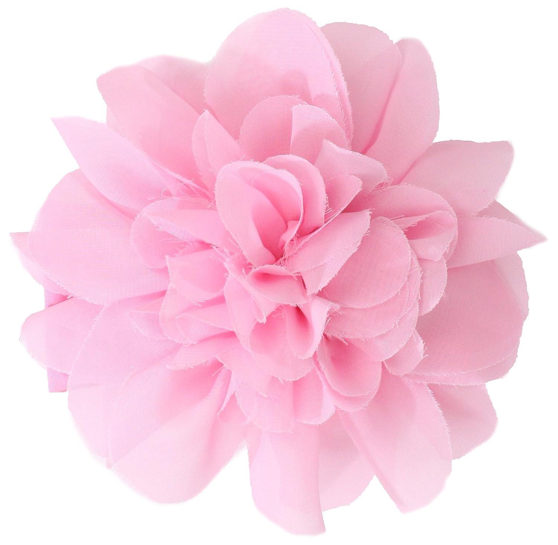 Amazon Mud Pie Baby Girls Newborn Chiffon Flower Soft Headband