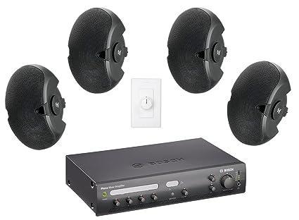 Amazon Com Restaurant Sound System With 4 Electro Voice
