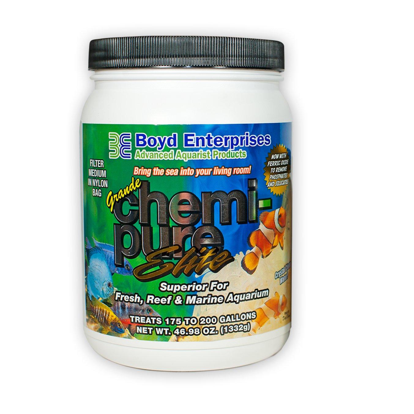 Boyd Enterprises ABE16745 Chemipure Elite Grande for Aquarium, 46 Oz. (1332g) by Boyd Enterprises B00798ZDV2