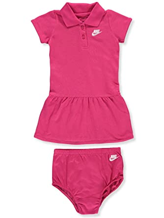 Nike Baby Girl Clothes Unique Amazon NIKE Baby Girls' Dress With Diaper Cover Clothing