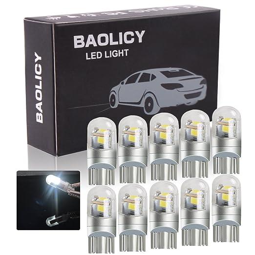 Amazon.com: BAOLICY LED T10 T15 Kit de luces interiores ...