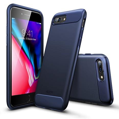 coque iphone 8 plus silicone noir mat