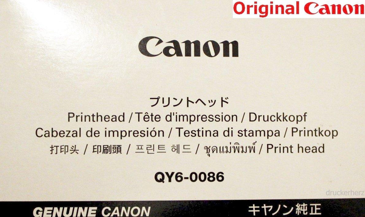 Canon QY6-0086 - Cabezal de impresión para MX925, MX725, MX924 ...