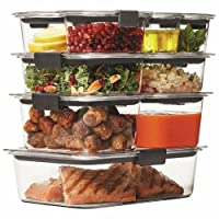Deals on Rubbermaid Brilliance Food Storage Container 18-Piece Set