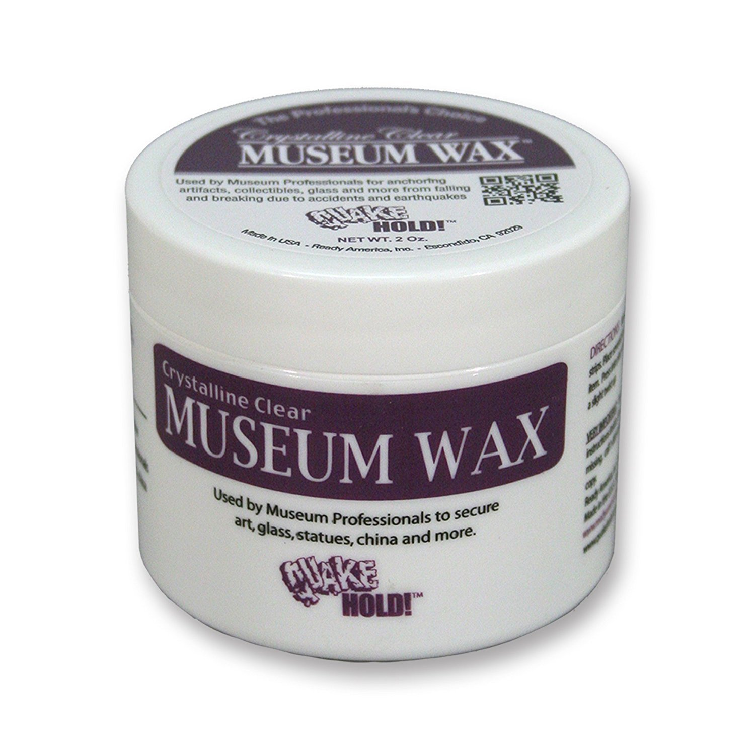 Quakehold! 66111 2-Ounce Museum Wax … (2 Pack)