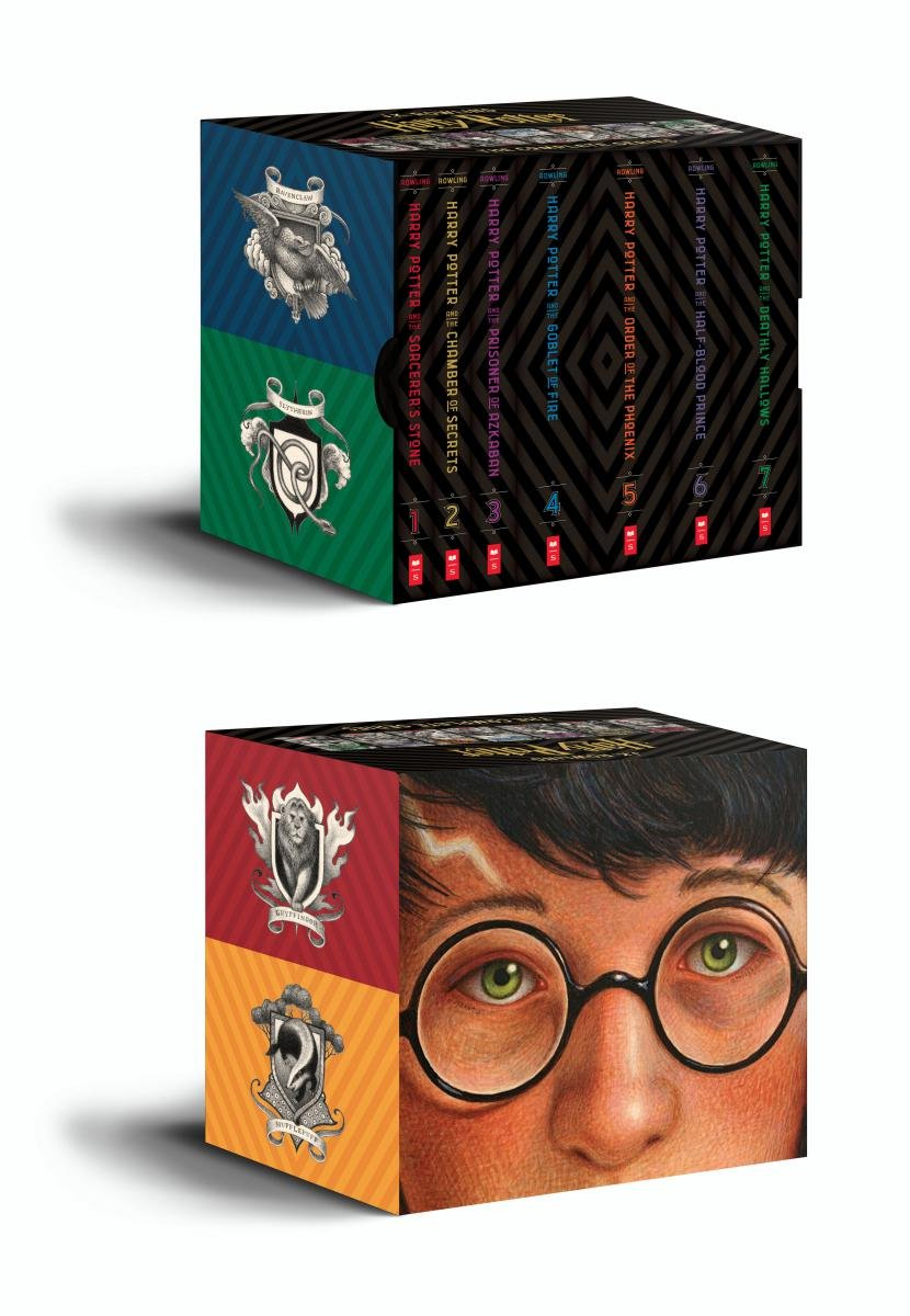 Best Price Amazon Harry Potter Books 1 7 Special Edition Boxed