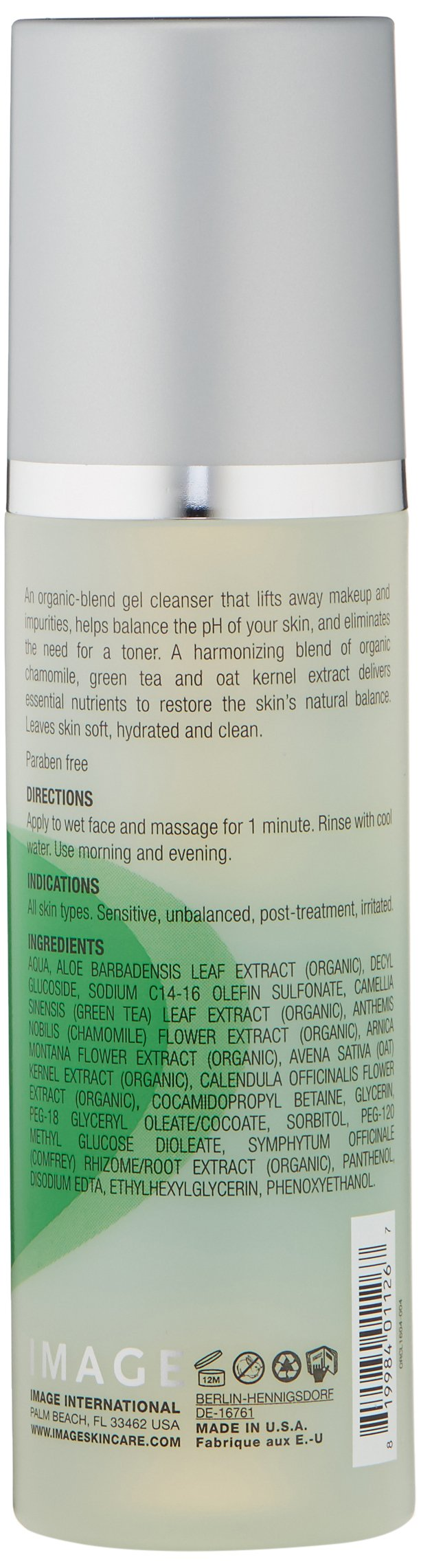 IMAGE Skincare Ormedic Balancing Facial Cleanser, 6 oz. by IMAGE Skincare (Image #3)