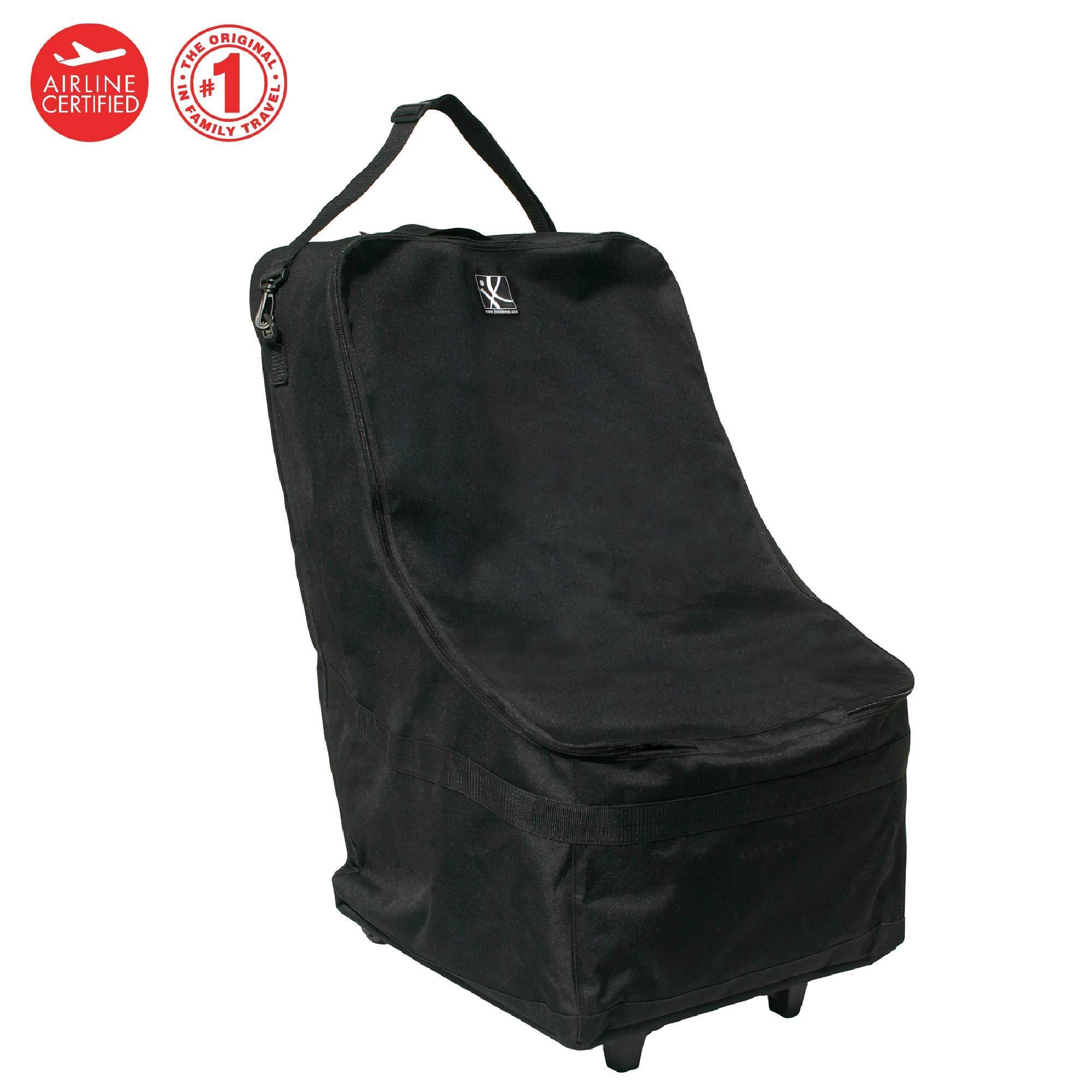 J.L. Childress Wheelie Car Seat Travel Bag, Black by J.L. Childress