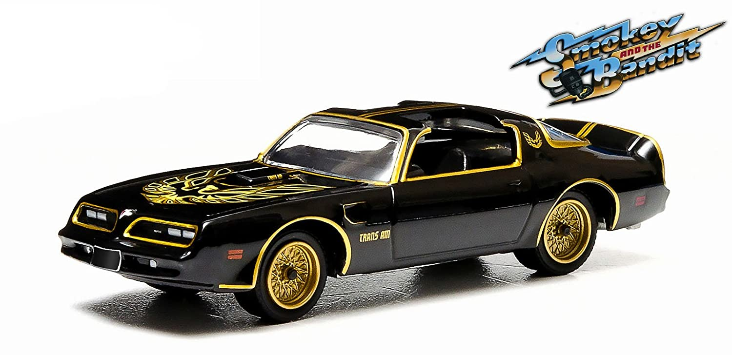 Greenlight 1:64 Hollywood Series Smokey and The Bandit 1977 Pontiac Trans Am Diecast Car