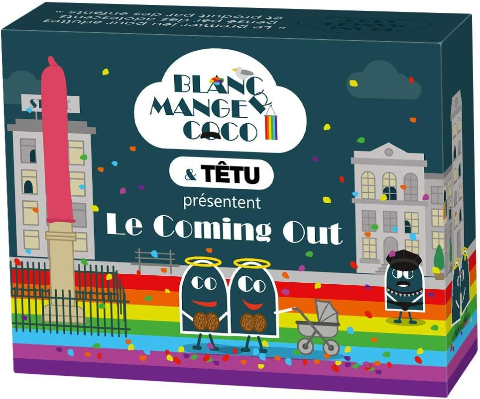 Blanc-Manger Coco-Le Coming Out Extension No 15 Multicoloured 8 Out-200 Cards