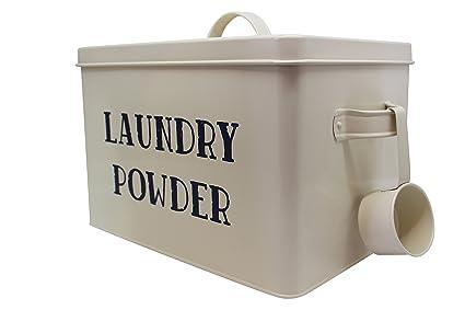 Amazoncom Laundry Powder Detergent XL Vintage Storage Container