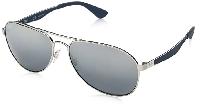 bd7f9338ad46b1 Ray-Ban Gradient Aviator Men s Sunglasses - (0RB3549029 1158 58 Gradient  Grey Color)  Amazon.in  Clothing   Accessories