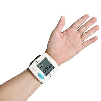 Euph Tensiómetro de Muñeca Monitor Portátil de Presión Arterial Alta Precisión y Fiabilidad con Función de