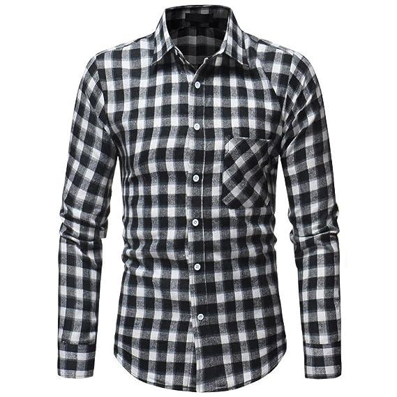 Yvelands Pullover Fastener Sweatshirts Moda Masculina Handsome Personality Daily Tartan Camiseta Manga Larga Top Blusa Vestido