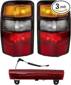 New 3rd Brake Light Center High Mount Stop Lamp CHMSL FOR GM SUVS /& MINIVANS