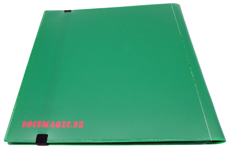 160 Card Binder YGO PKM /Álbum para Tarjetas Azul Oscuro MTG docsmagic.de Pro-Player 4-Pocket Album Dark Blue