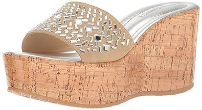 f438ec3423b5 Amazon.com  Donald J Pliner Women s Cloesp Platform Dress Sandal  Shoes