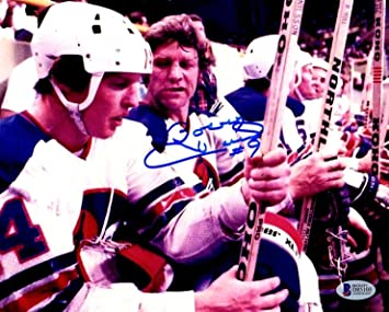 bb8bb598a Beckett Authentic Bobby Hull 9 Autographed Signed Winnipeg Jets 8x10 ...