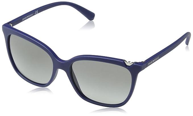 Emporio Armani Damen Sonnenbrille » EA4094«, blau, 560211 - blau/grau