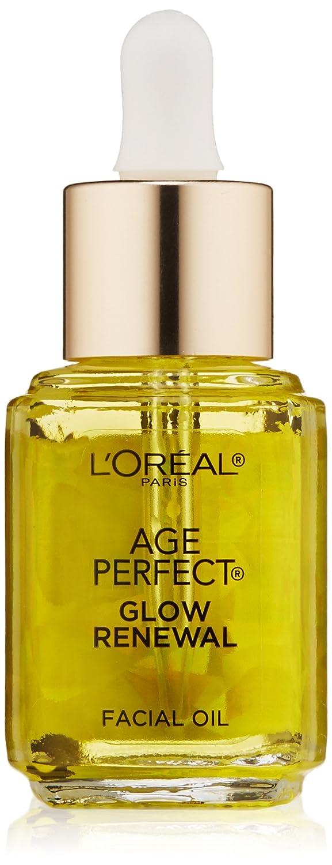 L'Oréal Paris Age Perfect Glow Renewal Face Oil, For Dull, Dry Skin, 0.5 oz