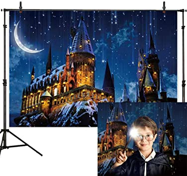 Amazon Com Allenjoy 7x5ft Magic Castle Witch Wizard Hogwarts
