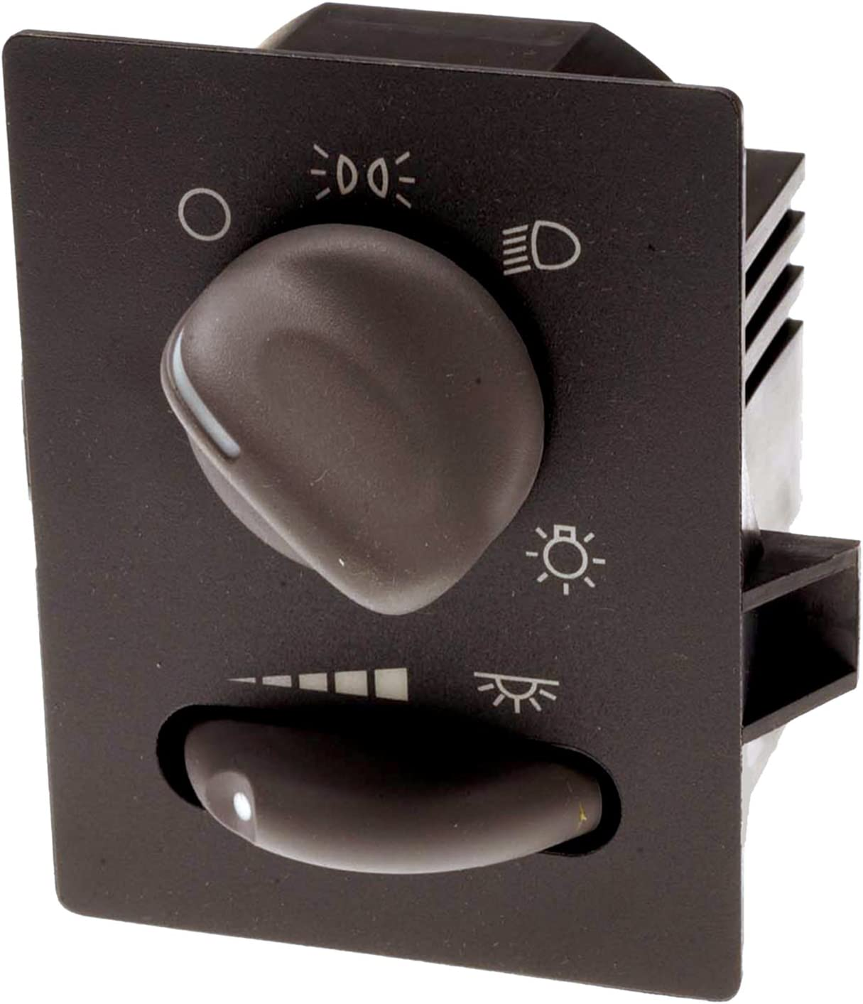 ACDelco D1500G GM Original Equipment Ebony Headlamp and Instrument Panel Dimmer Switch with Housing