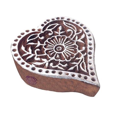 Royal Kraft Jaipuri Drucken Bl/öcke Fahrrad Gestalten Holzstempel