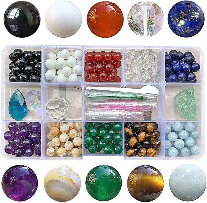 30 x 6mm Gold sandstone glass beads diy gemstone
